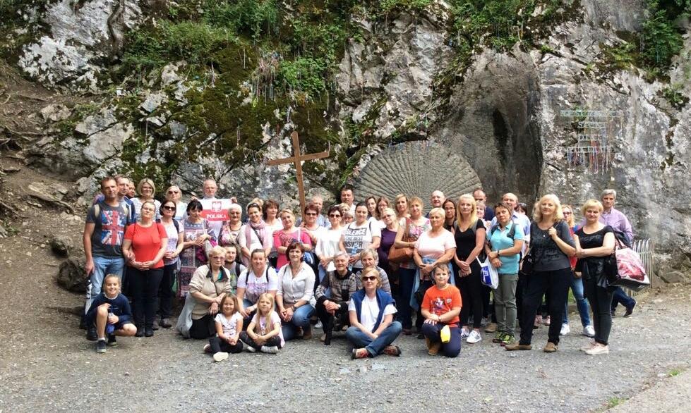 Nuestra capellanía polaca de Madrid, en Lourdes