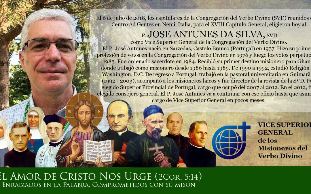 El Nuevo Vice-Superior General de los Misioneros del Verbo Divino · Su rostro, su alma SVD