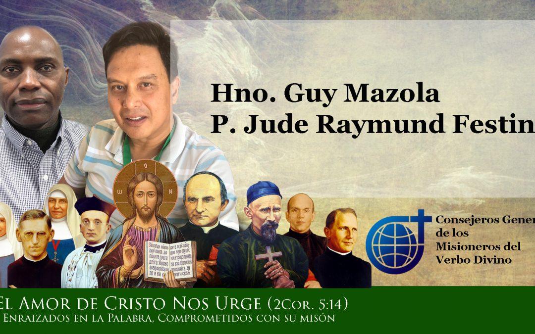 Los dos Nuevos Consejeros Generales de los Misioneros del Verbo Divino