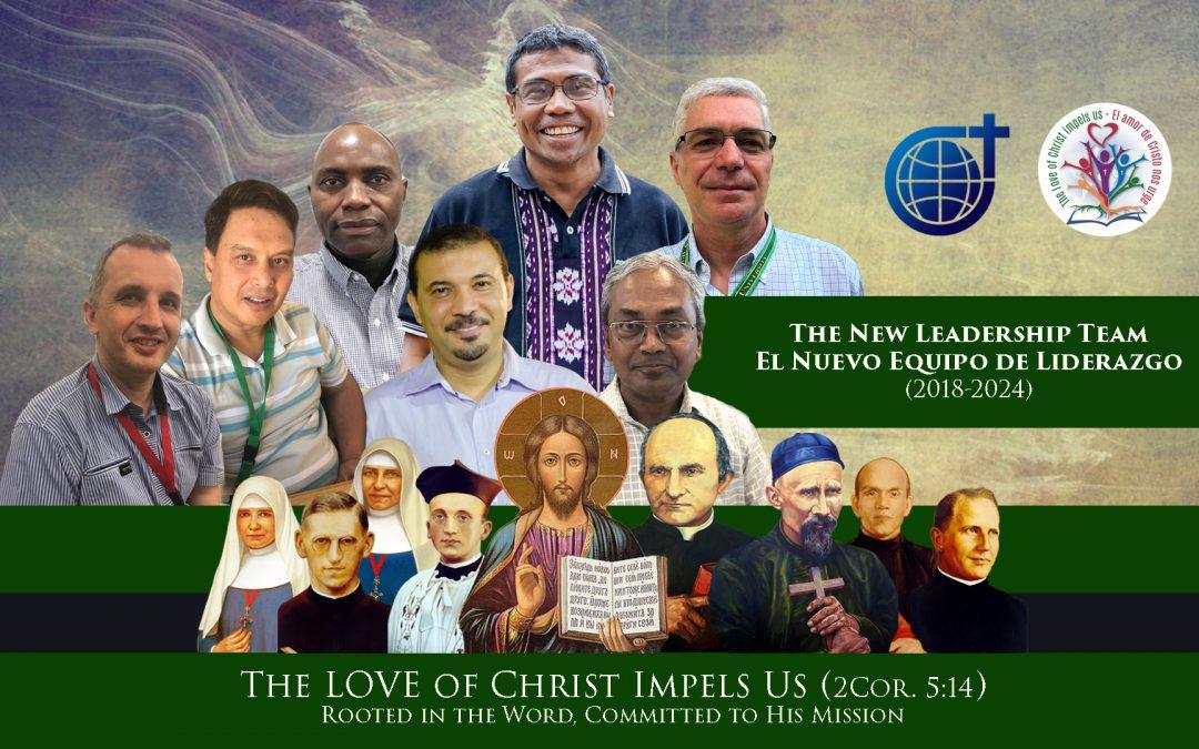 El Nuevo Equipo de Liderazgo de los Misioneros del Verbo Divino