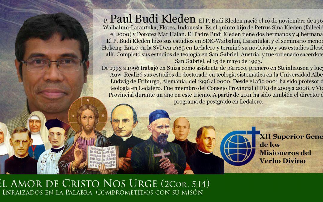 El XII Superior General de los Misioneros del Verbo Divino: mucho más que joven · El Capítulo sabe qué vota