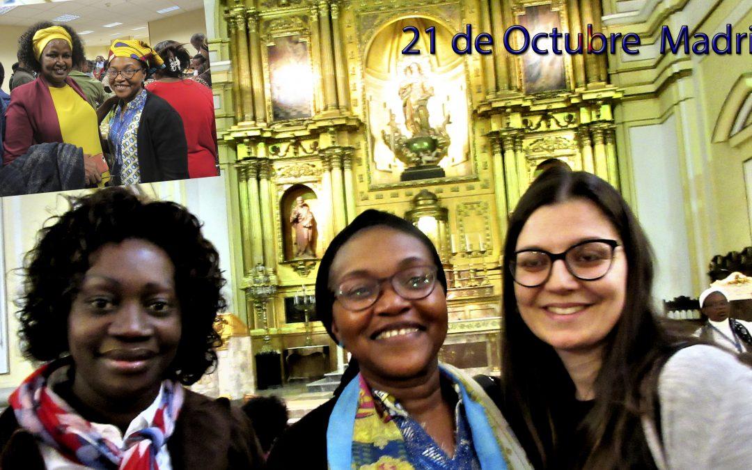 21 misionero, de Capellanía Africana, de Rostros que tendrán más historia en esta WEB