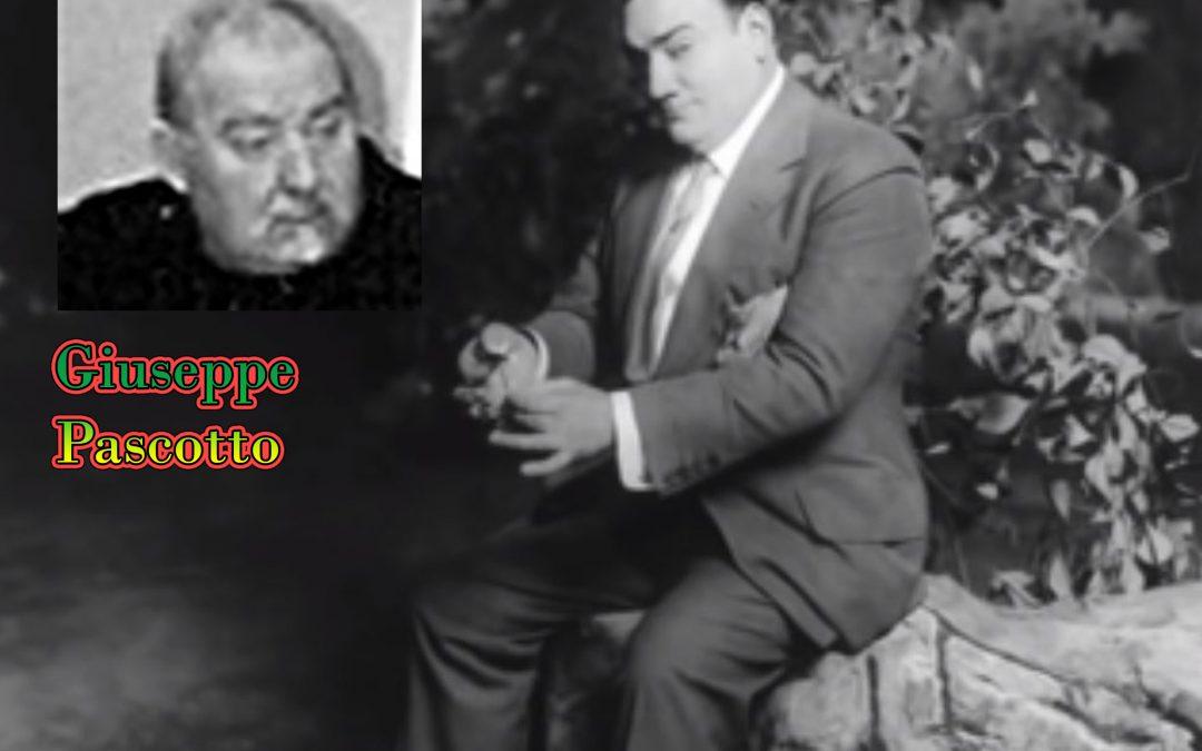 Hoy por Santa Lucía, con Juseppe Pascotto, de los nuestros