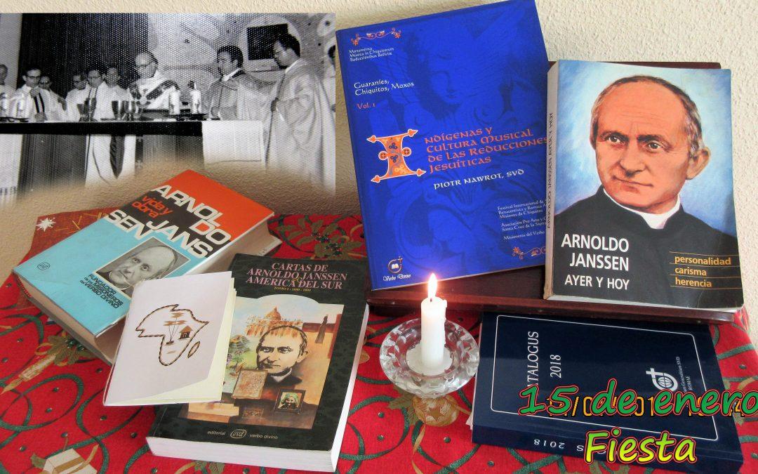 San Arnoldo: celebrado en SVD España, acercado a España en español por nuestro P. General