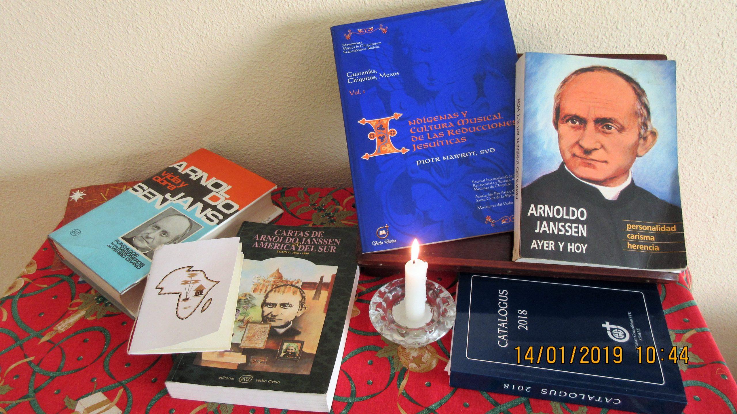 Arnoldo Janssen, según Karl Bude SVD de Silesia