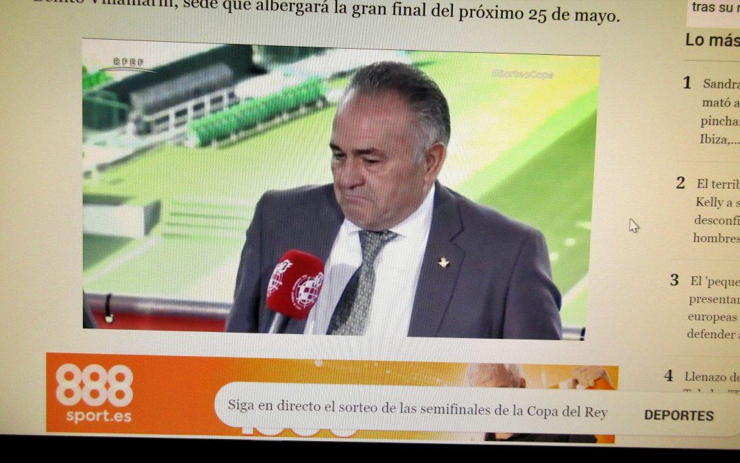 Nuestra WEB invadida de sevillanos SVD, tan contentos con la Copa del Rey