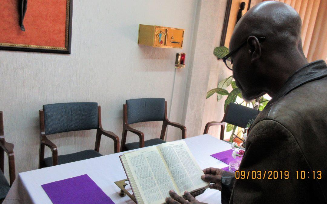 Facatino este sábado, en la Lectio Divina con el Evangelio del Domingo