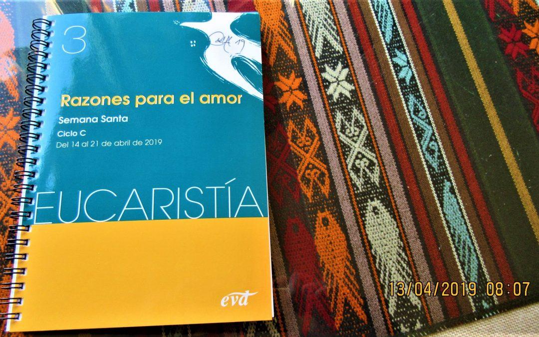 'Quiero ver' Domingo de Ramos, Semana Santa en EUCARISTÍA – EVD –