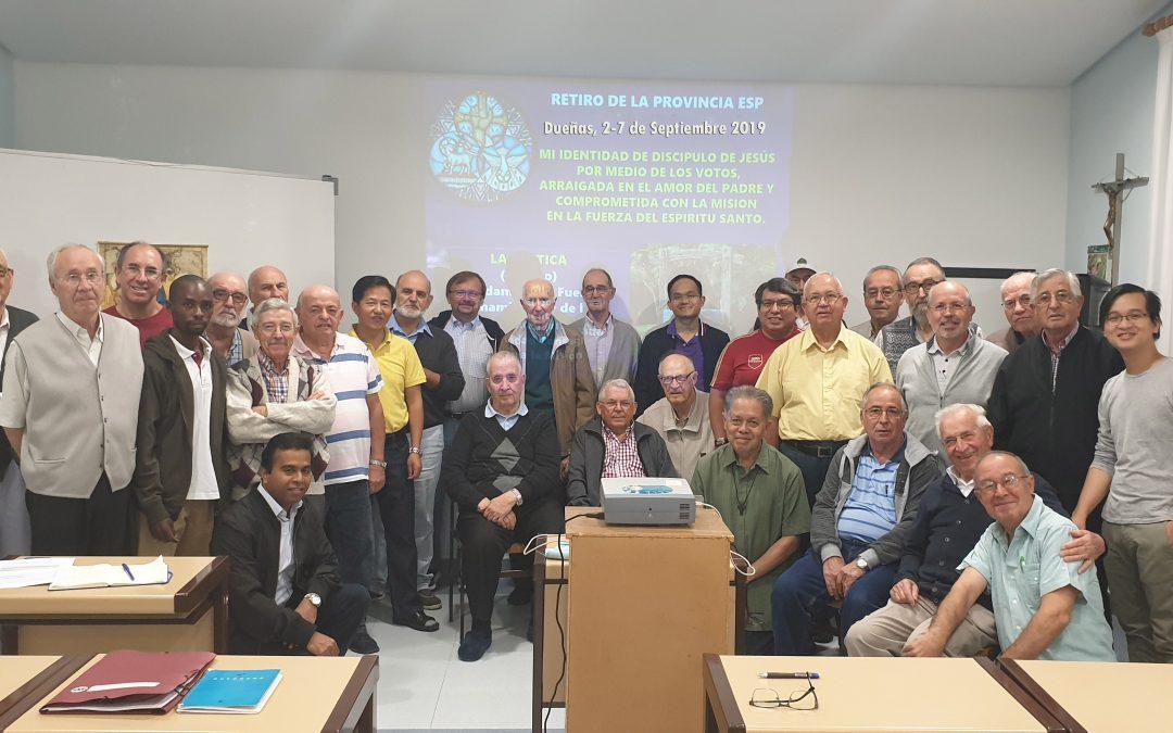 Retiro anual-Llamados, enviados, con mística de Trinidad, en la SVD