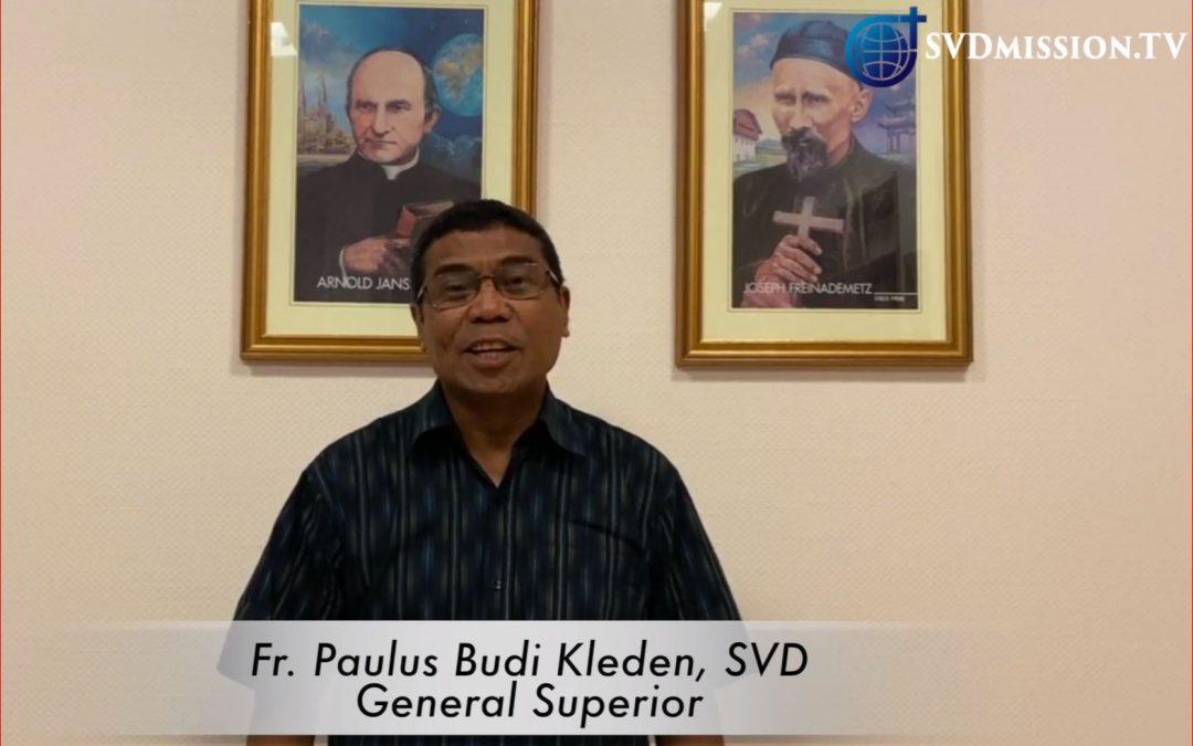 Mensaje de P. General Budi Kleden en la fiesta de San Arnoldo Janssen.